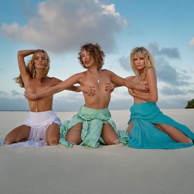 Ксения Собчак выложила снимок с голой грудью (ФОТО)