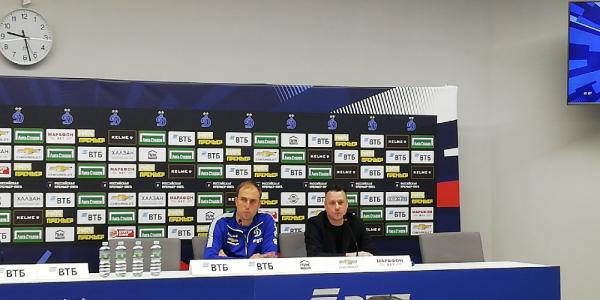 И. о. главного тренера Динамо Кирилл Новиков: Мы прервали полосу неудач, но хотелось бы большего
