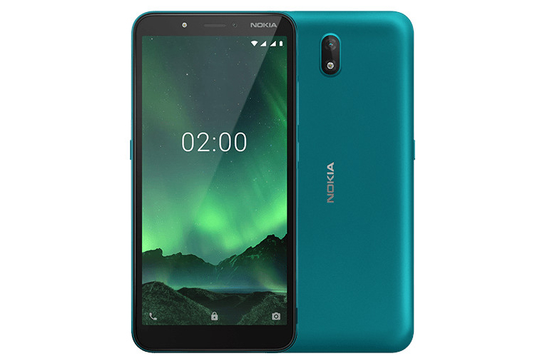Nokia C2 Android Go Edition: смартфон с 5,7 экраном HD+
