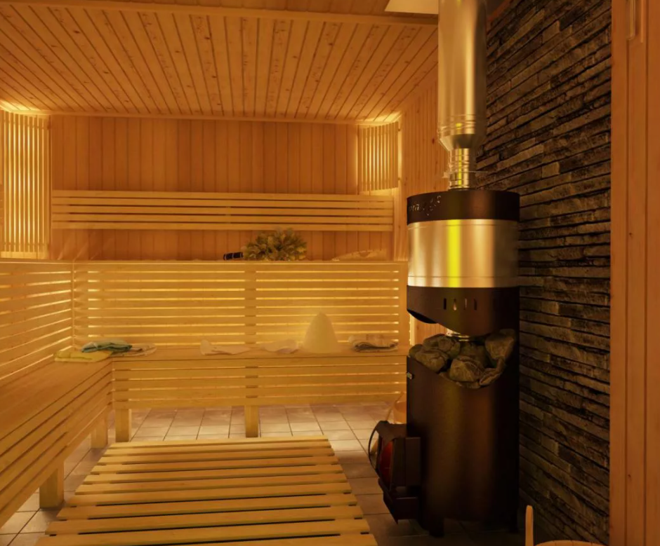 Чугун для вашей бани лучший выбор.